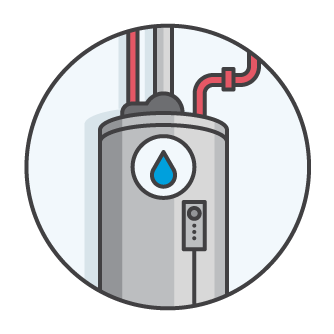 Water Heater Icon